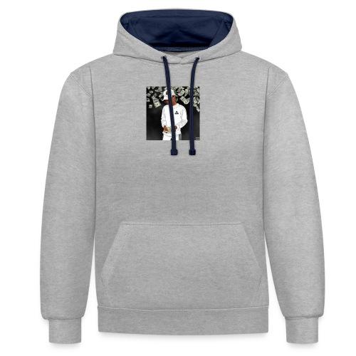 Nigga - Kontrast-hættetrøje