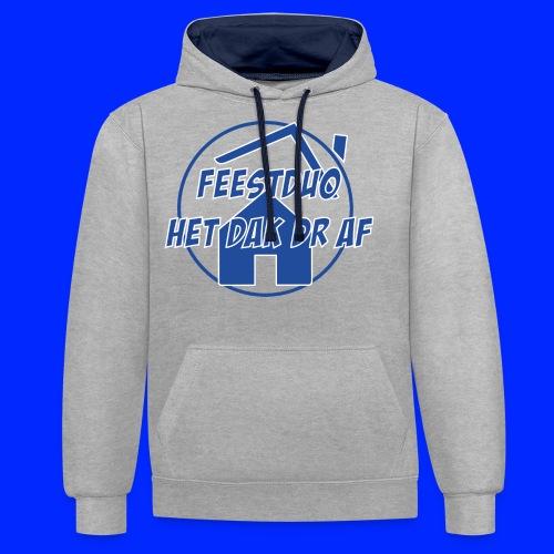 Simpel logo - Contrast hoodie