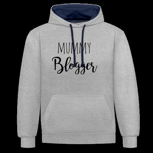 Mummy Blogger - Kontrast-Hoodie