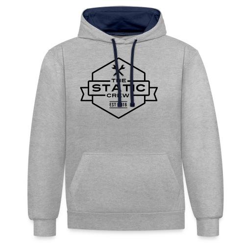 The Static Crew - Kontrast-Hoodie