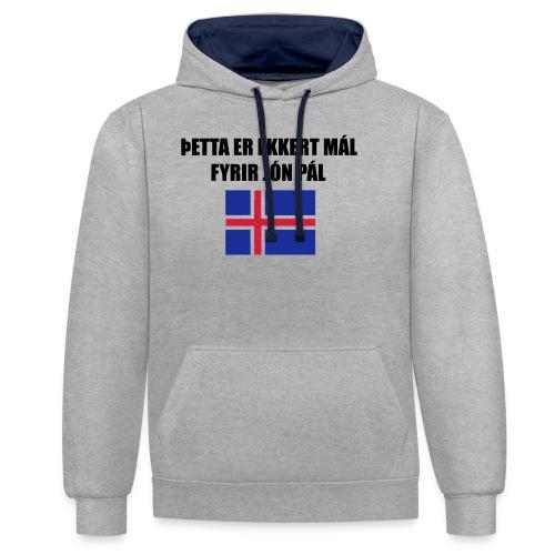 Jón Páll Tee - Kontrastluvtröja