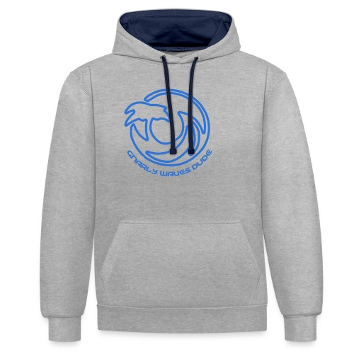 gnarly af sweather - Contrast hoodie