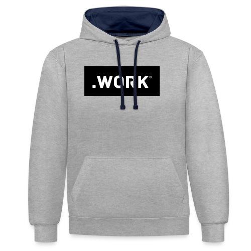 .WORK ORIGINAL - Kontrast-Hoodie