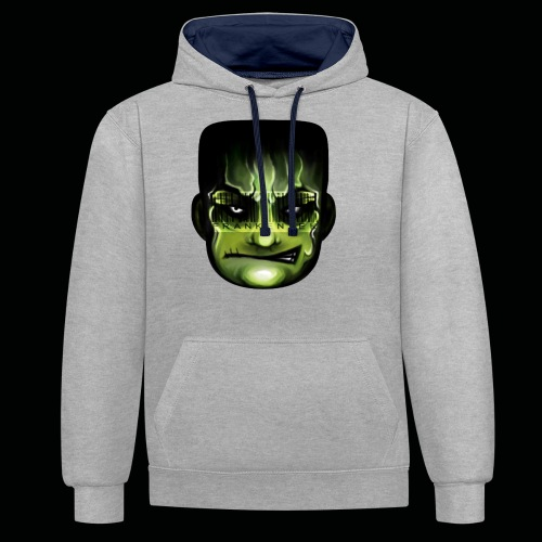 Frankenstein_logo - Contrast hoodie