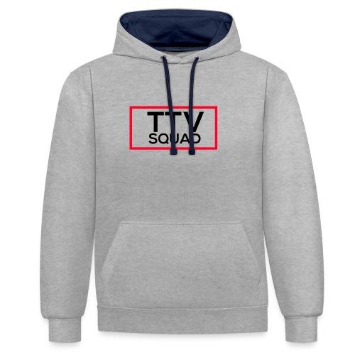 TTVSquad - Kontrast-Hoodie
