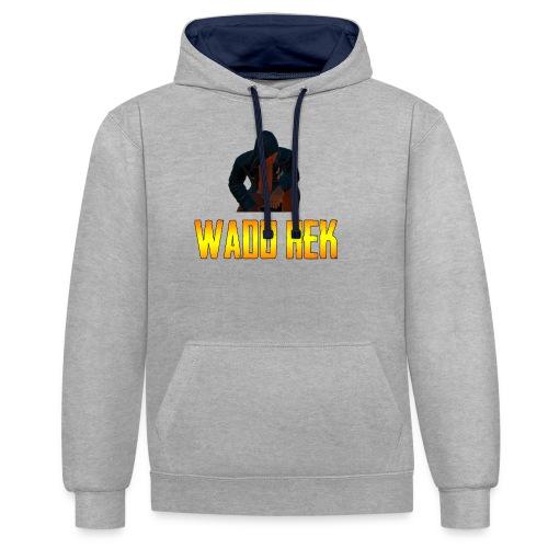 WADU HEK - Contrast Colour Hoodie