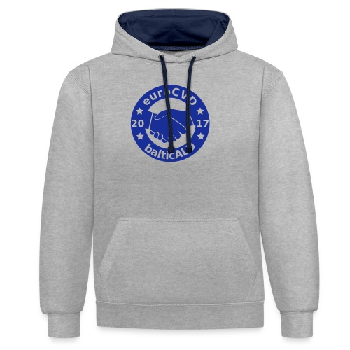 Joint EuroCVD - BalticALD conference mens t-shirt - Contrast Colour Hoodie