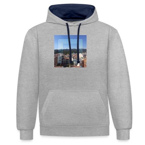 Calella in June - Contrast hoodie