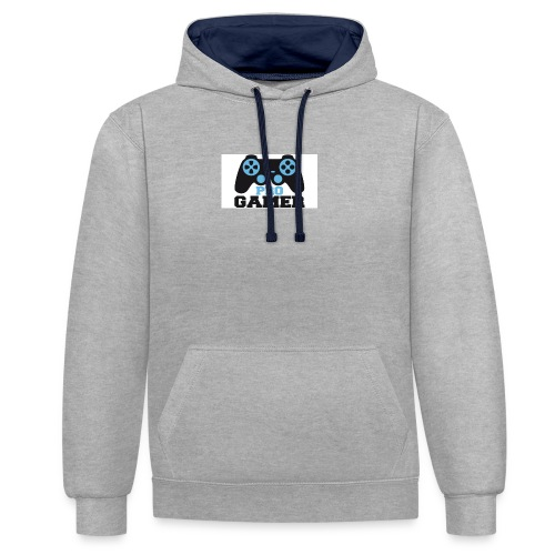 Pro-Gamer-Post-w644h362 - Contrast Colour Hoodie