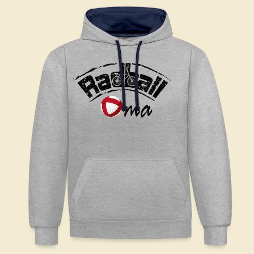 Radball   Oma - Kontrast-Hoodie