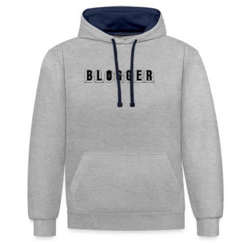 0181 Blogger | Blog | Website | Homepage - Contrast Colour Hoodie