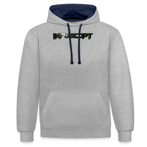 banners frente png - Contrast Colour Hoodie