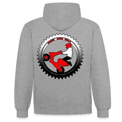 LOGO POUR ANTHONY png - Sweat-shirt contraste
