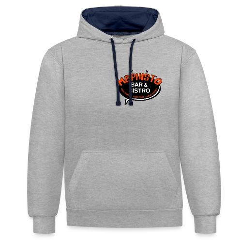 logo p - Kontrast-Hoodie