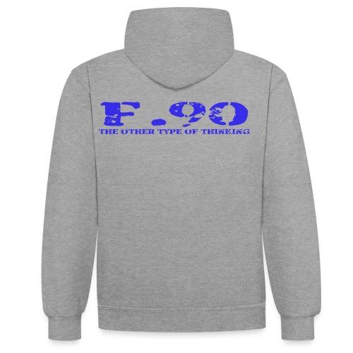 F 90 png - Kontrast-Hoodie