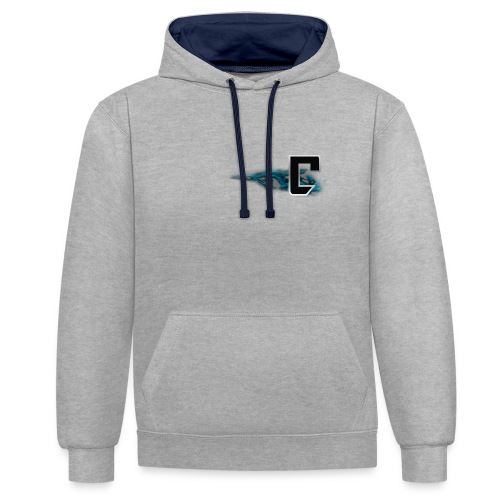 T Shirt Vorne png - Kontrast-Hoodie