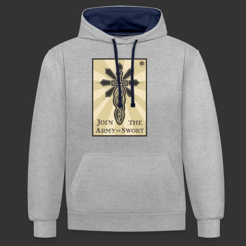 Join the Army of Swort - Contrast Colour Hoodie