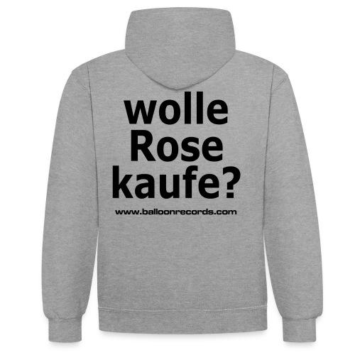 Wolle Rose Kaufe - Kontrast-Hoodie