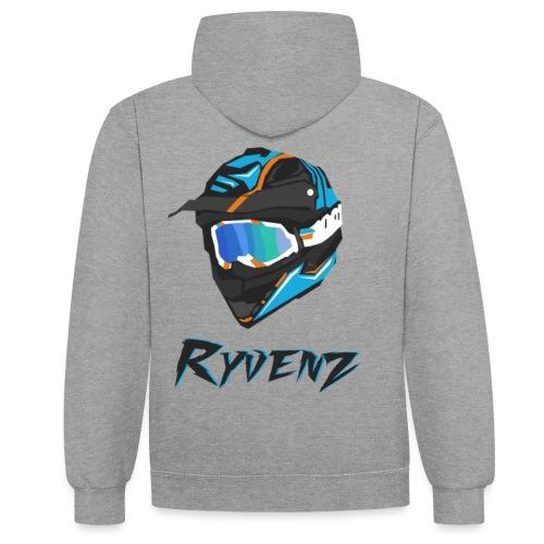 PULL RYVENZ N2 - Sweat-shirt contraste