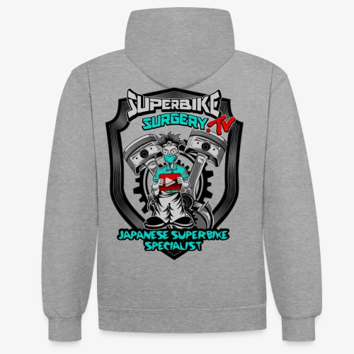 Superbike Surgery TV - Contrast Colour Hoodie