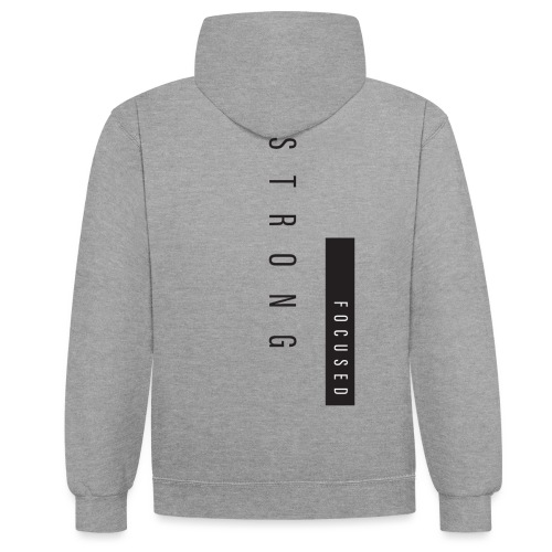 Strong Focused - Sweat-shirt contraste