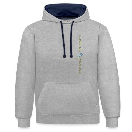 logo-vorne-anker_2 - Kontrast-Hoodie