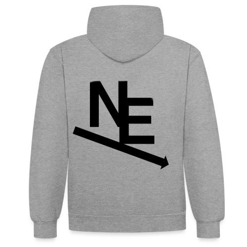 NE Classic - Kontrast-hettegenser