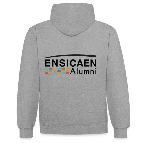 Collection Ensicaen alumni - Sweat-shirt contraste