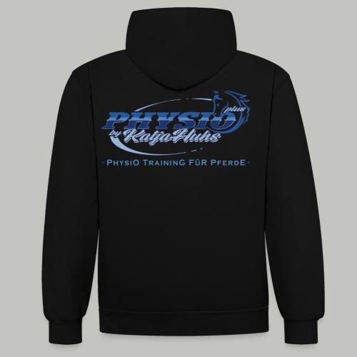 PHYSIO Shirt TEXT - Kontrast-Hoodie