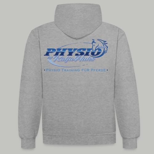 PHYSIO Shirt TEXT - Kontrast-Hoodie