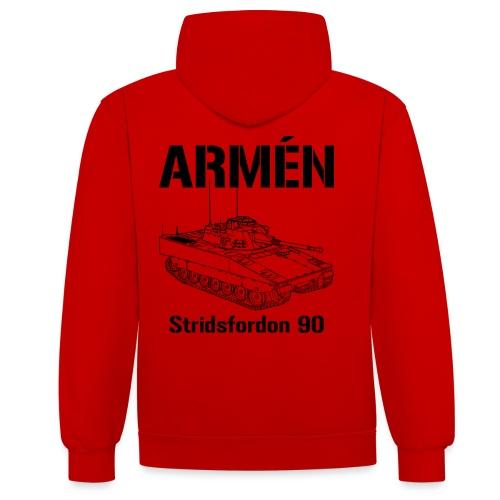 Armén Stridsfordon 9040 - Kontrastluvtröja
