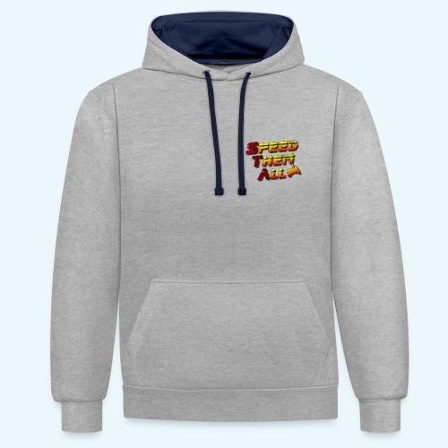 STA logo print - Sweat-shirt contraste