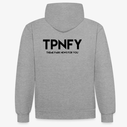TPNFY - Contrast Colour Hoodie