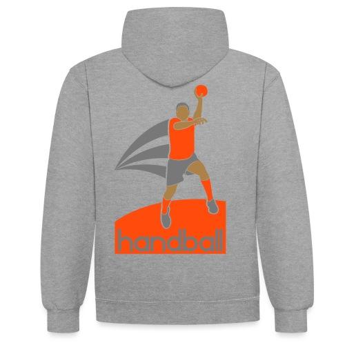 Handballer - Sweat-shirt contraste