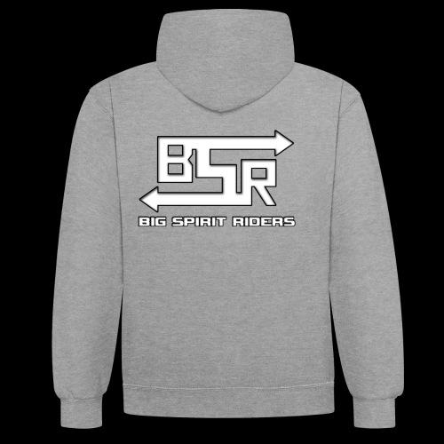 BSR producten met tekst - Contrast hoodie