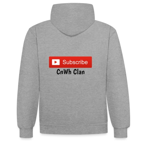 Subscribe CnWh Clan Merch - Kontrastluvtröja