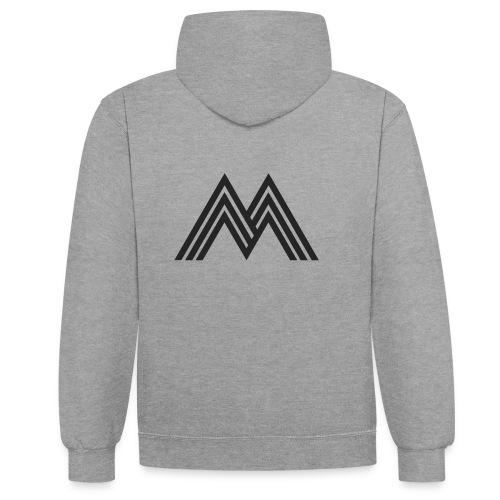 Merchandise With Deejay Michiel logo - Contrast hoodie