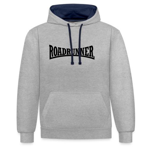 Roadrunner - Kontrast-Hoodie