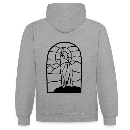 Harawyn Polderwolf - Contrast hoodie