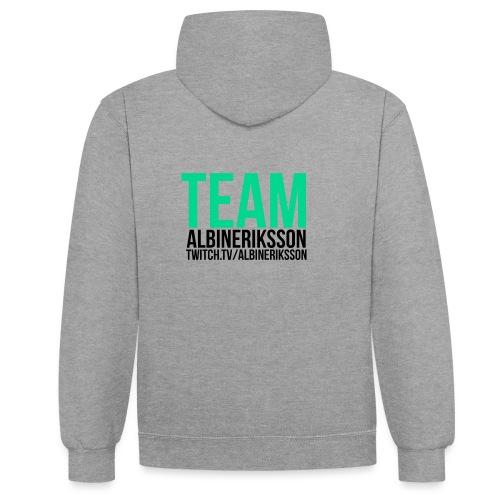 Team albinerikss0n Svart - Kontrastluvtröja