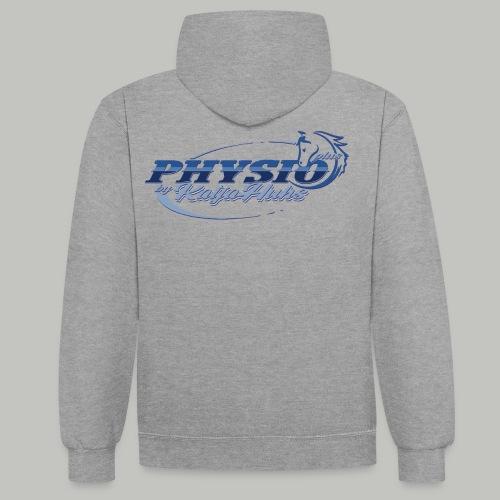 PHYSIOplus_2xPrint (Bitte max. 40° verk. waschen) - Kontrast-Hoodie