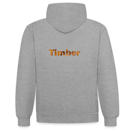 TIMBER colection - Sweat-shirt contraste