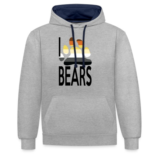 I love bears - Sweat-shirt contraste