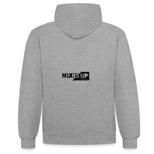 Mixed-Up---Recordings---D - Contrast Colour Hoodie