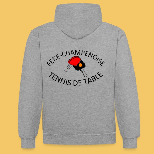 Logo fère 2018 - Sweat-shirt contraste