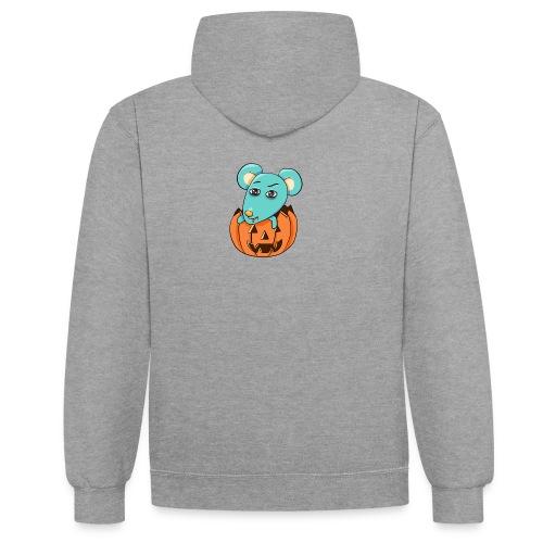 Halloween - Kontrast-hættetrøje