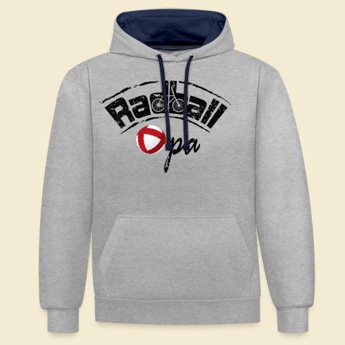Radball | Opa - Kontrast-Hoodie