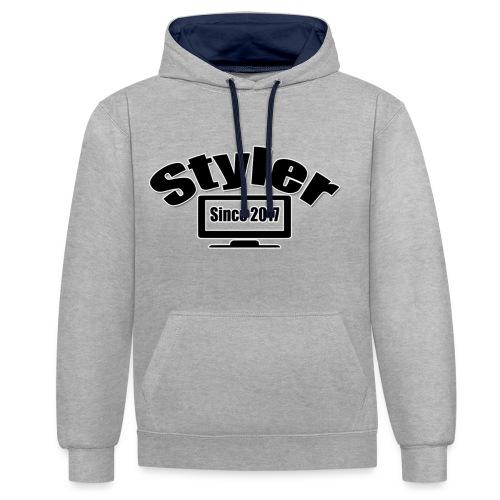 Styler Designer Kleding - Contrast hoodie