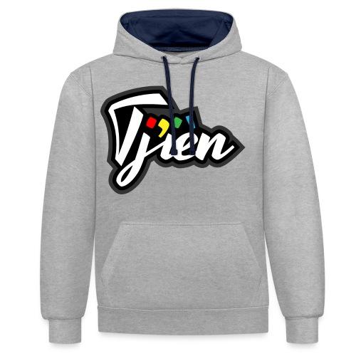 Tjien Logo Design - Contrast hoodie