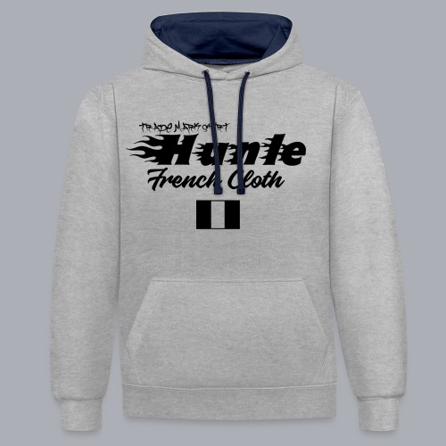 hunle Flame - Sweat-shirt contraste